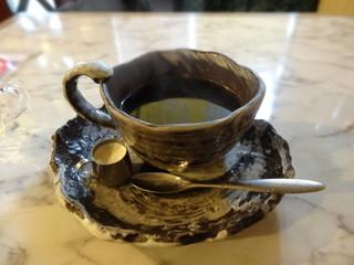 この路 - 趣のあるコーヒーカップです
