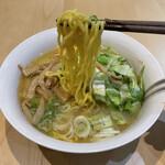 森住製麺 - 料理写真:玉子麺&極旨味噌セット+メンマ(220円)