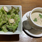 HANAMAKI モダンチャイニーズ 蓮 - サラダとスープ