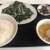 中華料理広東亭 - 料理写真:レバニラ定食 900円