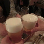 チュカテ - 久々の乾杯~~☆
