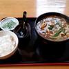 かまくら - 料理写真:カレー南 900円 + 小ライス 100円
