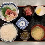 158962103 - 刺身定食 ¥850