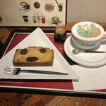 158970011 - イチジクのパウンドケーキも注文してた!