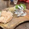 磯じま - 料理写真:○帆立の刺身&秋刀魚の刺身様