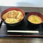 さとううどん - 料理写真:かつ丼 720円