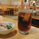 かぼちゃ亭 - コークハイ¥450&お通し¥210