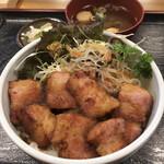 こんぼうす - 料理写真:ステーキベーコン丼900円