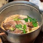葱ぼうず - 紅葉鯛の釜戸炊き銅鍋御飯