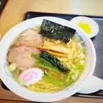 手打ちラーメン 英 - 料理写真:塩ラーメン 700円
