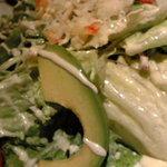 点 - タラバカニとアボガドのサラダ カニ味噌風味