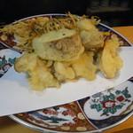割烹たけした - 松茸の天ぷら