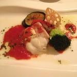 ラ・マテリエ - 主菜 本日の魚は鰆