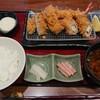 新宿さぼてん - 料理写真:黒胡麻チーズ巻きかつ御膳+牡蠣フライ