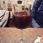 三浦飲食堂 - ぶどうジュース赤