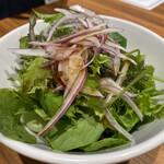 ロイヤルステーキ - サラダな部分