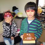 文明堂東京 - 料理写真:七五三カステラ とハナタレ兄弟!