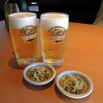 やよい軒 - 生ビール360円