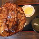 ぶたいち - 豚バラ特盛 1200円