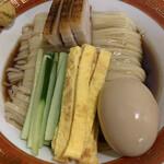 麺や 清流 - 冷やし中華アップ