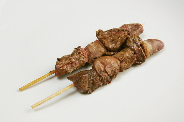 炭火焼き てり串 - きも串