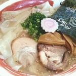 醤和 せじけん - 塩ワンタンメン 2012.11リニューアル後