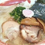 醤和 せじけん - 塩ワンタンメン アップ 2012.11