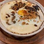 イタリア料理 モナリザン - カレーチーズドリア玉子のせ
