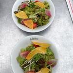 カフェ ラ・ボエム - ランチ・サラダ x2