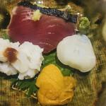 川崎 鮨 栞庵 やましろ - 季節の肴菜
