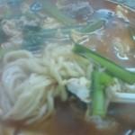 たんたん - タンタン麺のアップ