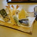 かわい - 料理写真:自慢の天ぷら