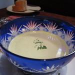 ビストロ スポンタネ - 2012.09スープ