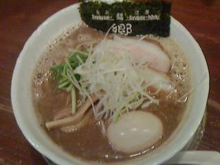 食彩麺酒房響 - こくうまひびきらぁめん(関東太麺)800円