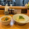 中華蕎麦 はる - 料理写真:秋季限定 魚介出汁の酸辣つけ蕎麦