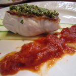 ビストロ スポンタネ - 2012.09相方のメインの魚