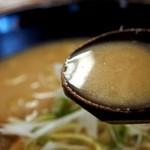 らーめん 信玄 - 信州(コク味噌) スープ