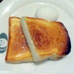 Kissanegishi - モーニングBセットのトーストとゆで卵