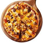 神戸クック・ワールドビュッフェ - 『BBQピザ』オリジナルBBQソースとジューシーな豚肉、濃厚なチェダーチーズをふんだんに使った豪快なピザ★