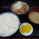 もつ煮 太郎 - もつ煮定食