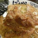 東京豚骨拉麺 ばんから - 柔らかい角煮