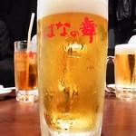はなの舞 - 生ビール♪(とれたてホップ一番搾り)