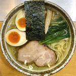 麺屋才蔵 - 料理写真:・鶏味玉しお 800円/税込 ・麺増量 30円/税込