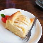 15911269 - りんごのケーキ
