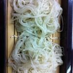 蕎麦彩彩 久留葉 - 二色せいろ
