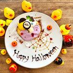 カフェ パンプルムゥス - 10月限定 ハロウィンパンケーキ