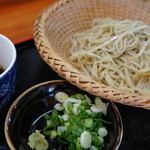 南阿蘇一心庵 - (2011.11)二八蕎麦(単品)。