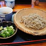 南阿蘇一心庵 - (2011.11)十割り蕎麦(単品)。