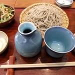 蕎麦 紫翠 - 大ざるセット(1000円)