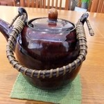 蕎麦 紫翠 - 蕎麦湯は陶器に入って
